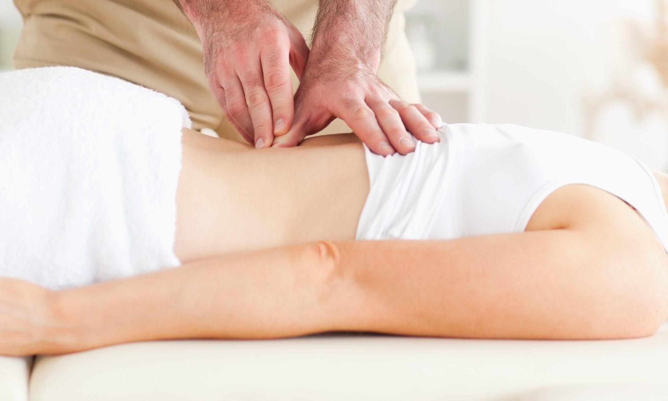 Fysioterapeutiske greb på ryggen