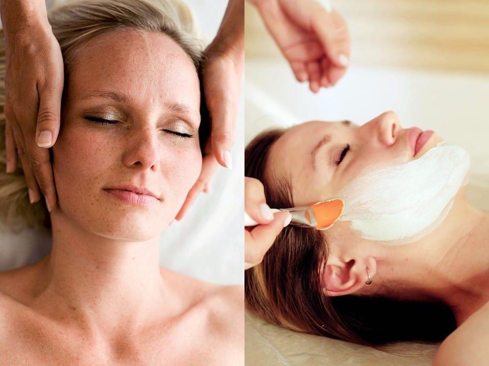 Wellnessmassage og ansigtsbehandling