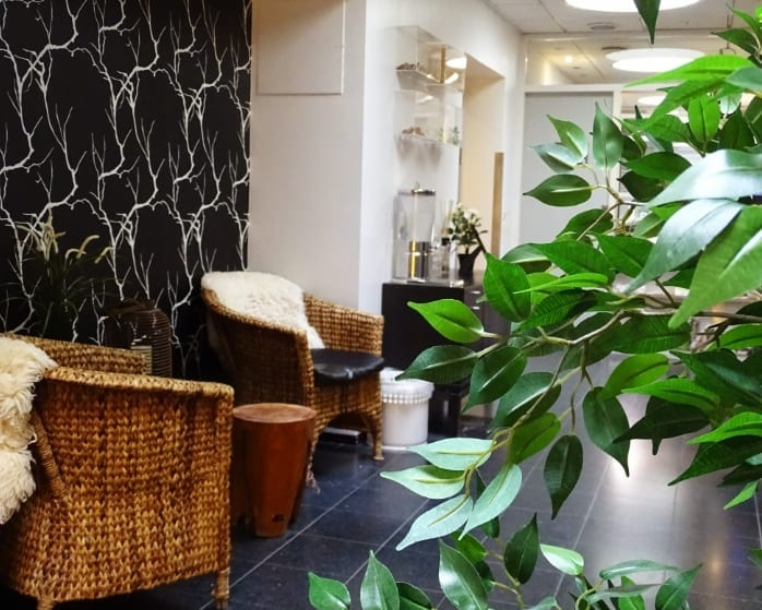 Venteværelse i CityFys Wellness