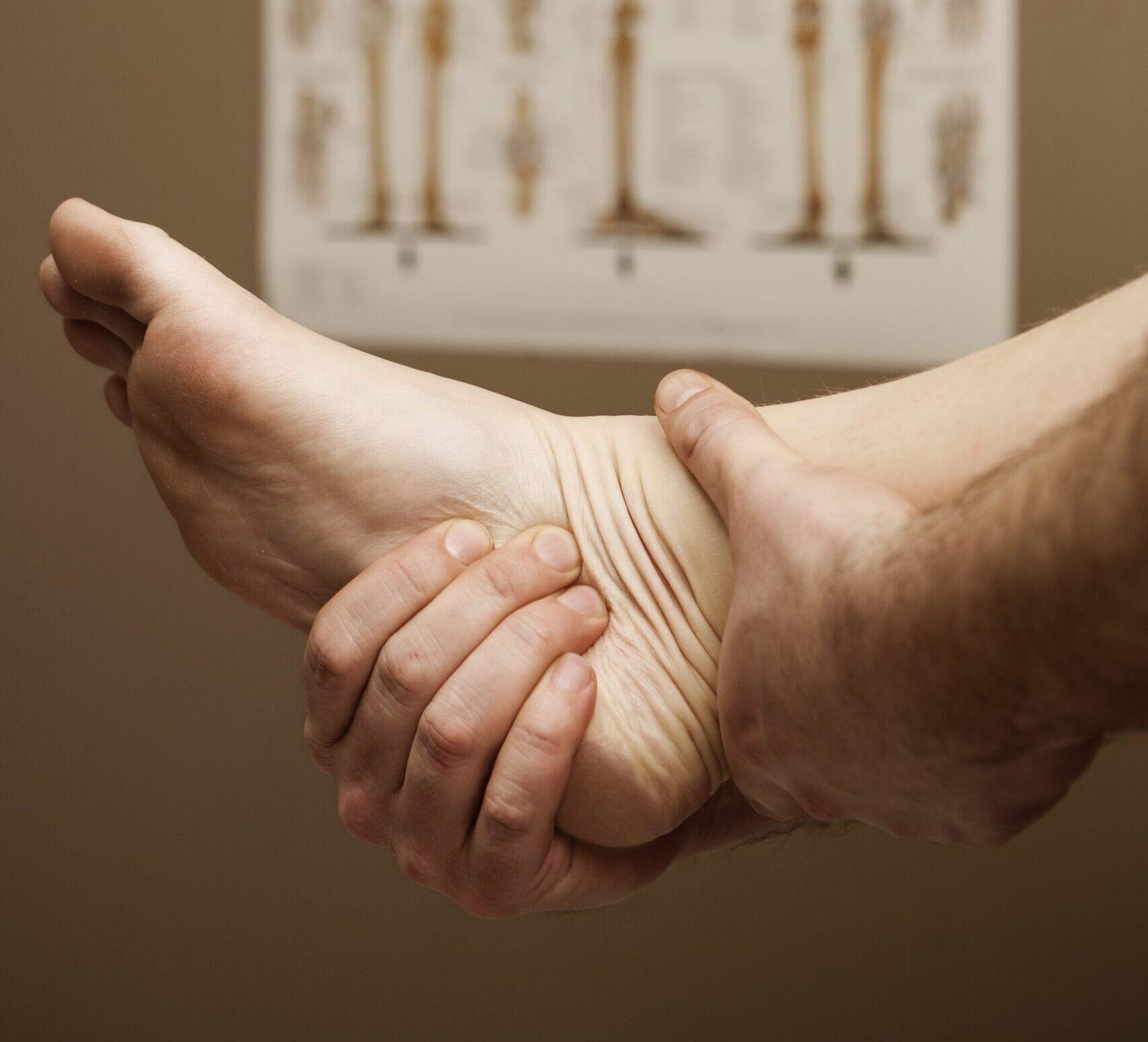 Undersøgelse af fod